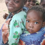 Malawian Girl With Baby
